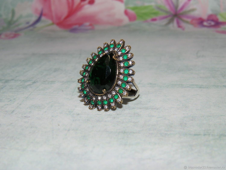 Ring 'Hürrem irresistible' from 925 sterling silver antique, Rings, Krasnodar,  Фото №1