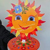 Народная кукла ручной работы. Ярмарка Мастеров - ручная работа Ленточная карусель Масленица. Handmade.