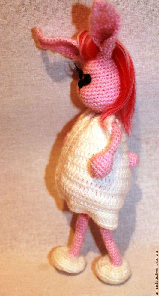 Обучающие материалы ручной работы. Ярмарка Мастеров - ручная работа. Купить МК Утренняя зайка, вязание крючком. Handmade.