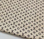 Материалы для творчества ручной работы. Ярмарка Мастеров - ручная работа Ткань хлопок YSL Брендовая ткань для шитья, одежды, текстиля, декора. Handmade.
