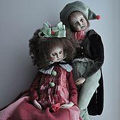 Куклы и игрушки ручной работы. Ярмарка Мастеров - ручная работа Старый театр. Пара комедиантов.. Handmade.