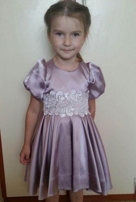 Одежда для девочек, ручной работы. Ярмарка Мастеров - ручная работа. Купить Платье Фея Фиалка. Handmade. Розовый, Платье нарядное