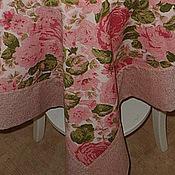 Для дома и интерьера ручной работы. Ярмарка Мастеров - ручная работа Скатерть Розы. Handmade.