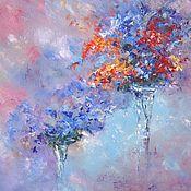 Картины и панно handmade. Livemaster - original item Oil painting Colored dreams. Handmade.