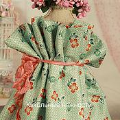 Ткани ручной работы. Ярмарка Мастеров - ручная работа Ткань хлопок для кукольной одежды для кукол. Handmade.