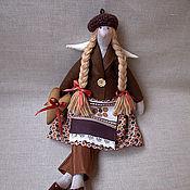 Куклы и игрушки ручной работы. Ярмарка Мастеров - ручная работа Тильда ангел Шоколадница. Handmade.