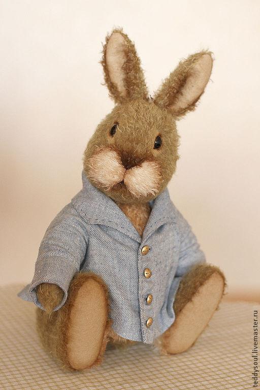 Мишки Тедди ручной работы. Ярмарка Мастеров - ручная работа. Купить Кролик Питер, мишки -Тедди. Handmade. Коричневый