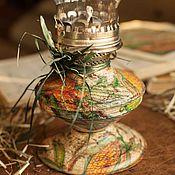 """Для дома и интерьера ручной работы. Ярмарка Мастеров - ручная работа Масляная лампа """"Овощная"""". Handmade."""