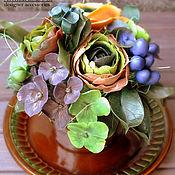 Цветы и флористика ручной работы. Ярмарка Мастеров - ручная работа Цветочная композиция в кружке. Handmade.