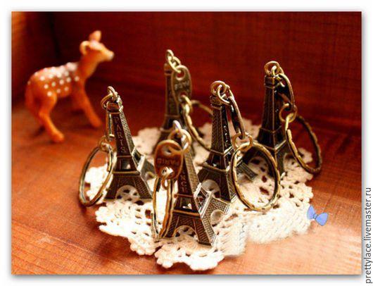 Брелоки ручной работы. Ярмарка Мастеров - ручная работа. Купить Брелок для ключей Эйфелева башня. Handmade. Брелок, Париж