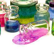 Куклы и игрушки ручной работы. Ярмарка Мастеров - ручная работа Кабинет химии большой набор баночек пузырьков кукольная миниатюра. Handmade.