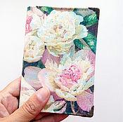 Канцелярские товары handmade. Livemaster - original item Passport cover. cover for documents. Series