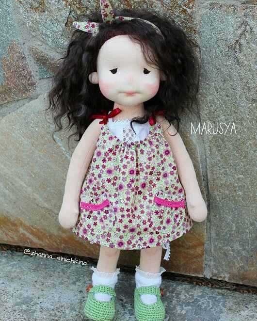 Вальдорфская игрушка ручной работы. Ярмарка Мастеров - ручная работа. Купить Кукла вальдорфская MARUSYA. Handmade. Кукла, для детей и взрослых