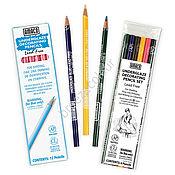Материалы для творчества ручной работы. Ярмарка Мастеров - ручная работа Подглазурные карандаши, набор 6 цветов США Amaco. Handmade.