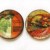 """Посуда ручной работы. Ярмарка Мастеров - ручная работа Тарелки """"Пора урожая"""". Handmade."""
