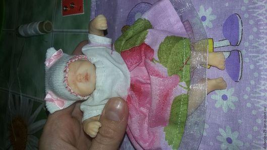 Куклы-младенцы и reborn ручной работы. Ярмарка Мастеров - ручная работа. Купить Малышка из полимерной глины. Handmade.