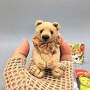 Куклы и игрушки handmade. Livemaster - original item Mini Bear Mr. Biscuit. Handmade.