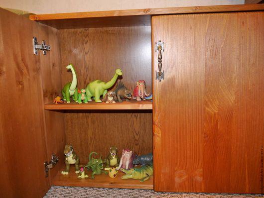 Мебель ручной работы. Ярмарка Мастеров - ручная работа. Купить Шкафчик для игрушек. Handmade. Дерево, полка, состаренное дерево