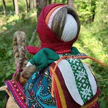 Русский стиль ручной работы. Ярмарка Мастеров - ручная работа Кукла-оберег на Счастье. Handmade.