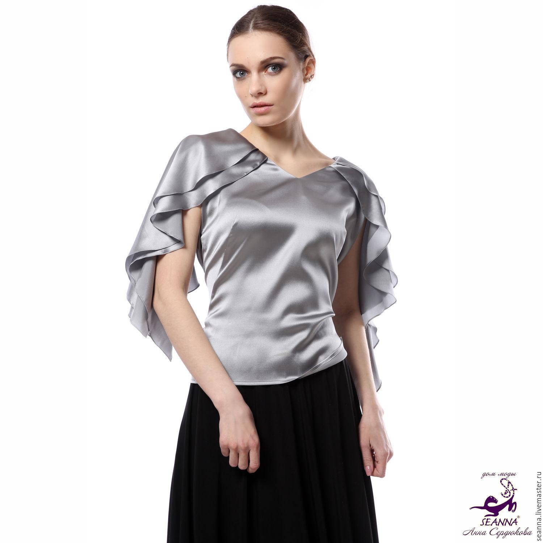 Купить Шелковую Блузку Женскую В Интернет Магазине