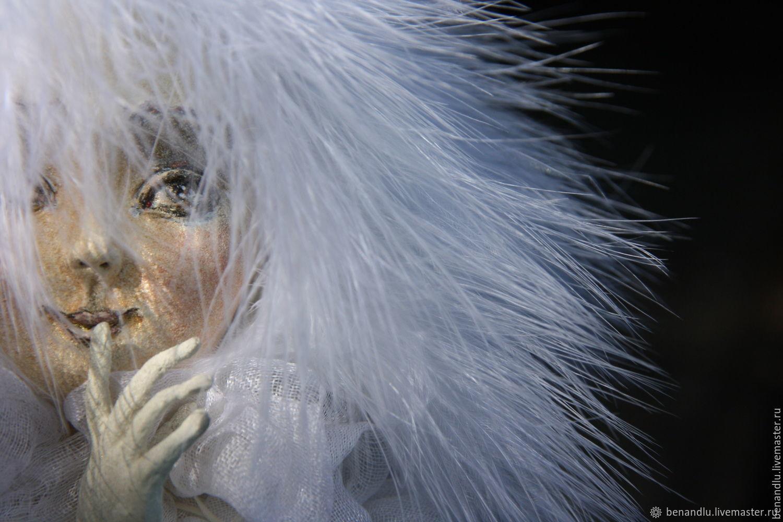 Ангел с секретом. Авторская кукла. Стиль шебби, Мягкие игрушки, Санкт-Петербург,  Фото №1
