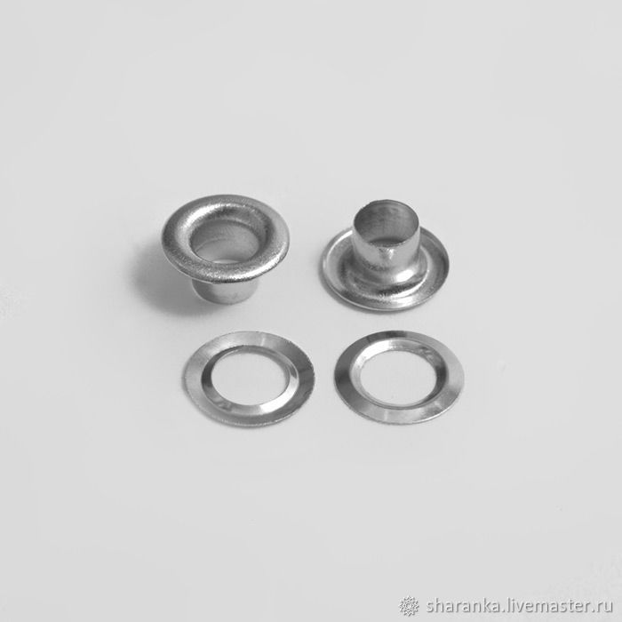 Eyelets 5 mm in the range, Snap buttons, Ivanovo,  Фото №1