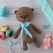 Куклы и игрушки ручной работы. Ярмарка Мастеров - ручная работа Мишка крючком. Handmade.
