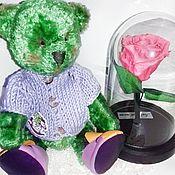 Куклы и игрушки handmade. Livemaster - original item Teddy bear. Toptyzhka.. Handmade.