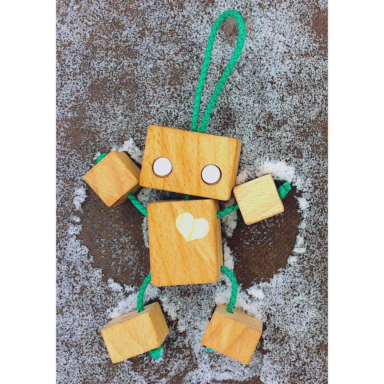 Детская игрушка из дерева Робот Эрик, Техника роботы транспорт, Нижний Новгород,  Фото №1