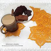 Для дома и интерьера handmade. Livemaster - original item Serving napkins, set of crochet doilies pineapple. Handmade.