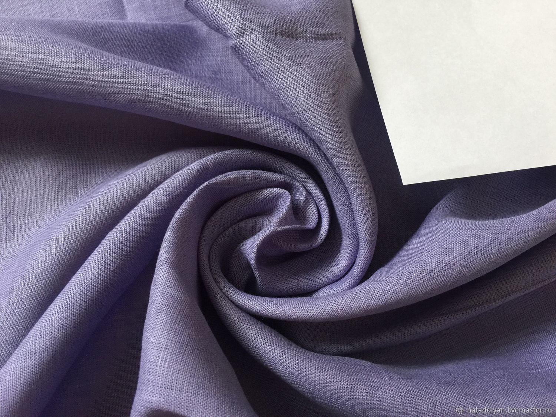 100% linen suit lightweight ' Lavender', Fabric, Ivanovo,  Фото №1