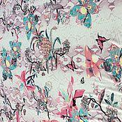 Ткани ручной работы. Ярмарка Мастеров - ручная работа RC 019 Хлопковый трикотаж Roberto Cavalli. Handmade.