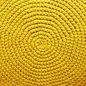 Для дома и интерьера ручной работы. Ярмарка Мастеров - ручная работа коврик (коврик вязанный). Handmade.