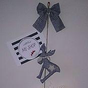 Подарки к праздникам ручной работы. Ярмарка Мастеров - ручная работа Гирлянда с оленями. Handmade.