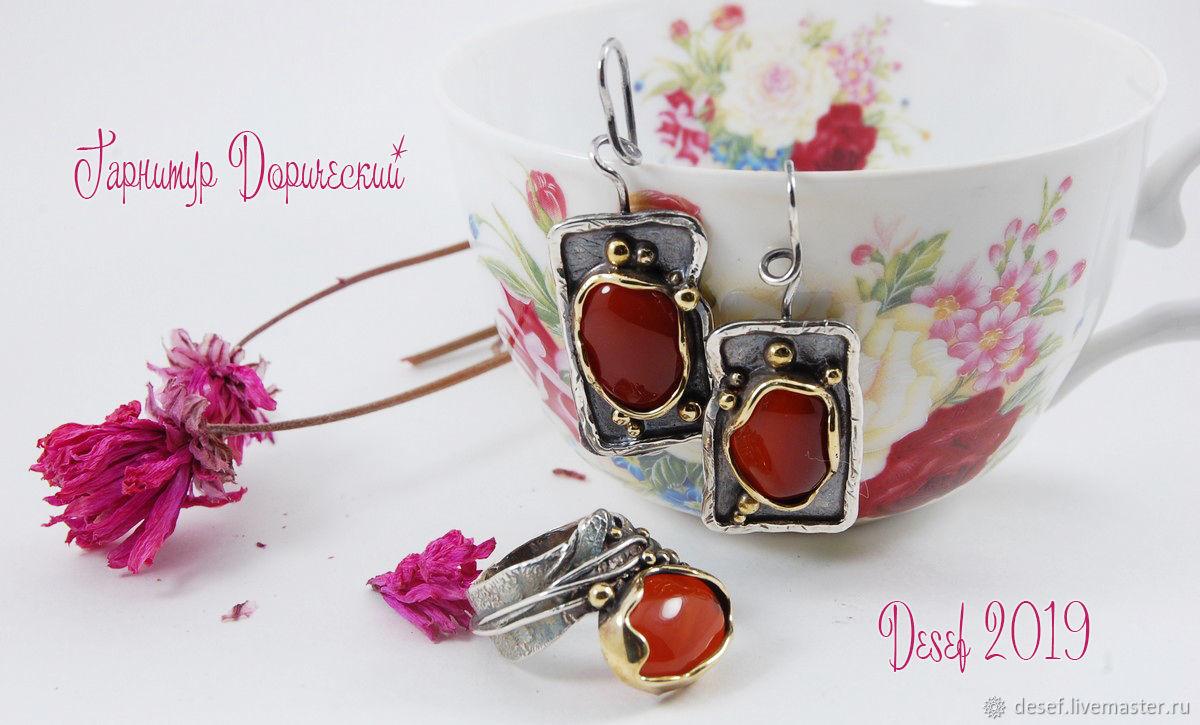 Set 'Dorijsky', Jewelry Sets, Kurgan,  Фото №1