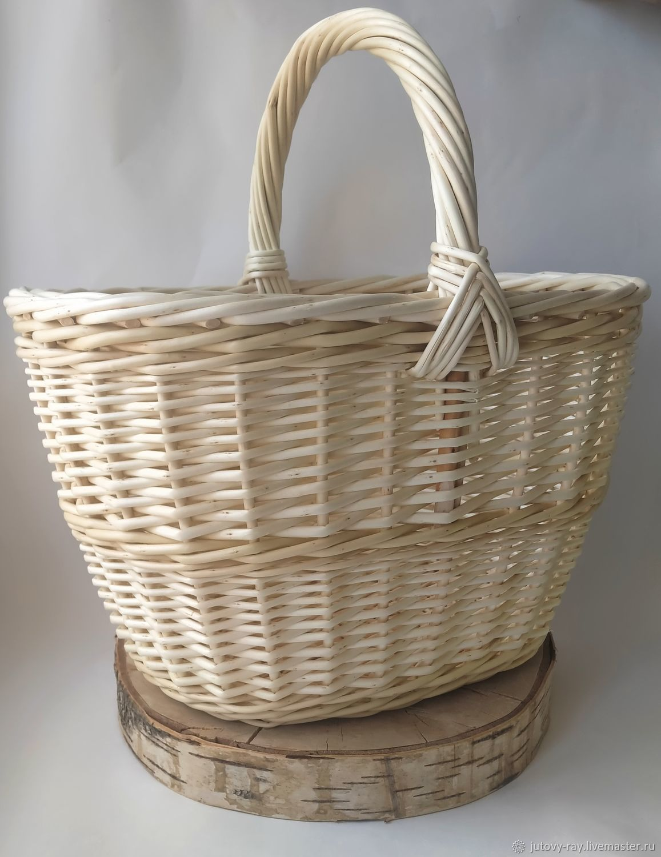 In stock! Basket woven from willow vine ' Mushroom', Basket, Vologda,  Фото №1
