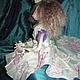 Коллекционные куклы ручной работы. Авторская интерьерная кукла Эллина. Наталия (stepnalia-hobby). Интернет-магазин Ярмарка Мастеров.
