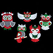 Подарки к праздникам handmade. Livemaster - original item scandinavian owls.. Handmade.