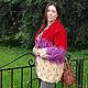 Верхняя одежда ручной работы. Вязаный Кардиган или пальто .. Розалинка (SalLia). Ярмарка Мастеров. Пальто женское