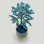 handmade. Livemaster - original item Turquoise tree