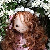 Куклы и игрушки ручной работы. Ярмарка Мастеров - ручная работа Текстильная авторская кукла Весна. Handmade.
