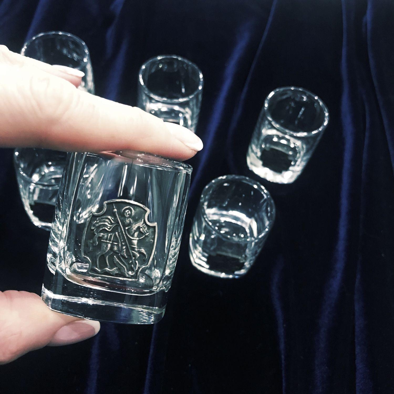 Set of stacks 'GEORGE. GEORGIAN», Shot Glasses, Zhukovsky,  Фото №1