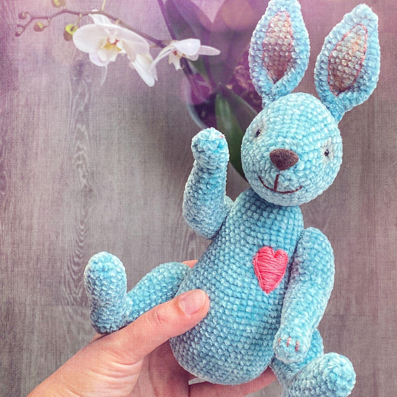 Кроля с огромным и добрым сердем, Мягкие игрушки, Москва,  Фото №1