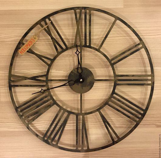 """Часы для дома ручной работы. Ярмарка Мастеров - ручная работа. Купить Часы 45см """"с патиной"""" """"Rooma"""". Handmade. Бронза"""