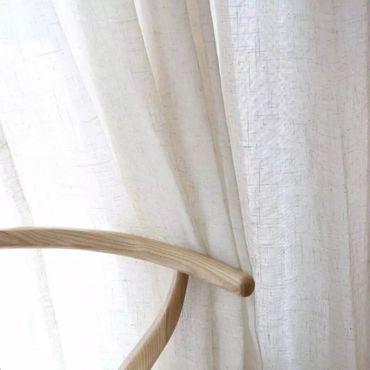 Для дома и интерьера ручной работы. Ярмарка Мастеров - ручная работа Льняная вуаль широкая. Handmade.