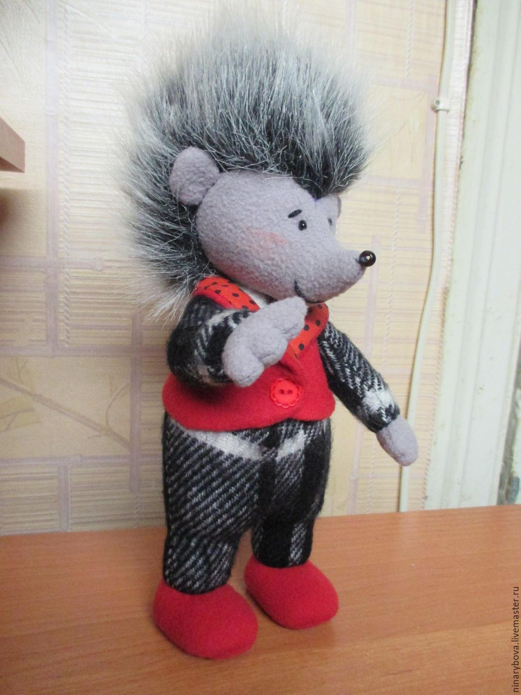 Текстильная  кукла: Ежик Петя, Чердачная кукла, Нижний Новгород,  Фото №1