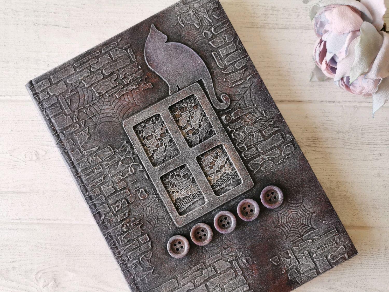 Книга для записей Кошечка Блокнот 120 листов Подарок женщине девушке, Блокноты, Клин,  Фото №1