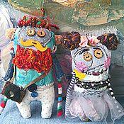 Куклы и игрушки ручной работы. Ярмарка Мастеров - ручная работа Хипстата и Красота :) Хипстер и ТамблерГёрл :). Handmade.