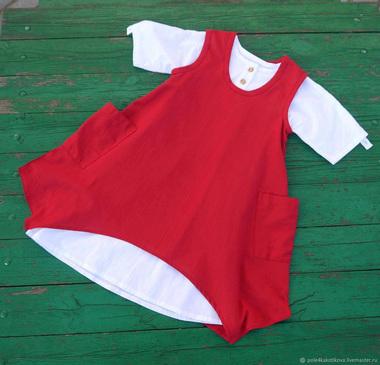 Платье детское в стиле бохо, Одежда, Липецк,  Фото №1