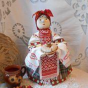 Куклы и пупсы ручной работы. Ярмарка Мастеров - ручная работа Баба на чайник. В народном стиле.. Handmade.